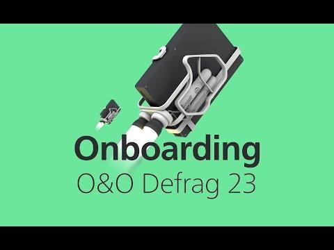 Erste Schritte mit O&O Defrag 23
